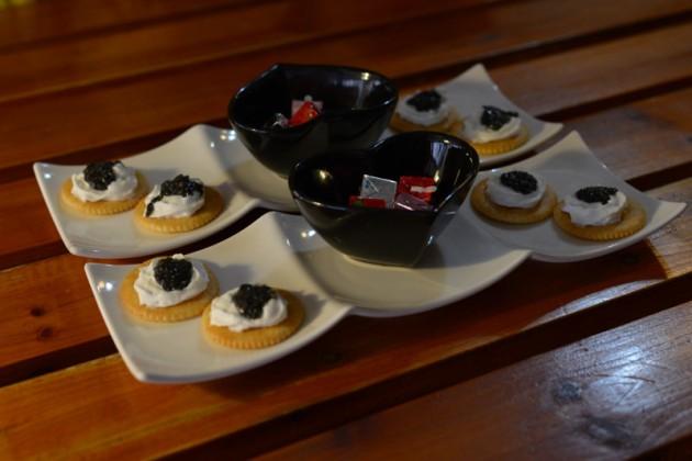 松露魚子醬奶油薄餅佐法國乾酪@松露廚房