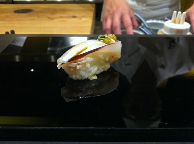水針魚握壽司@旨味料理