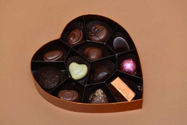 Godiva金裝巧克力心形禮盒12顆裝2