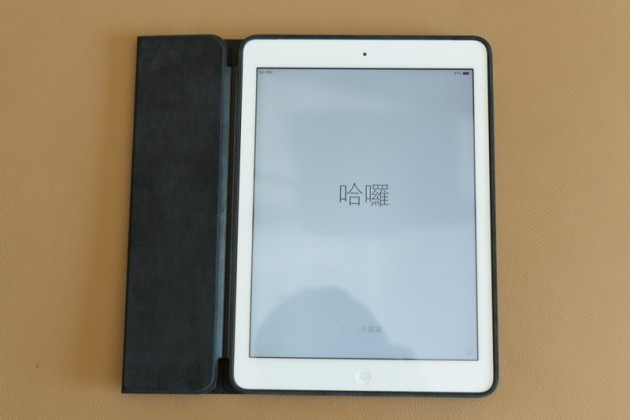 iPad Air開機+iPad Air Smart Case