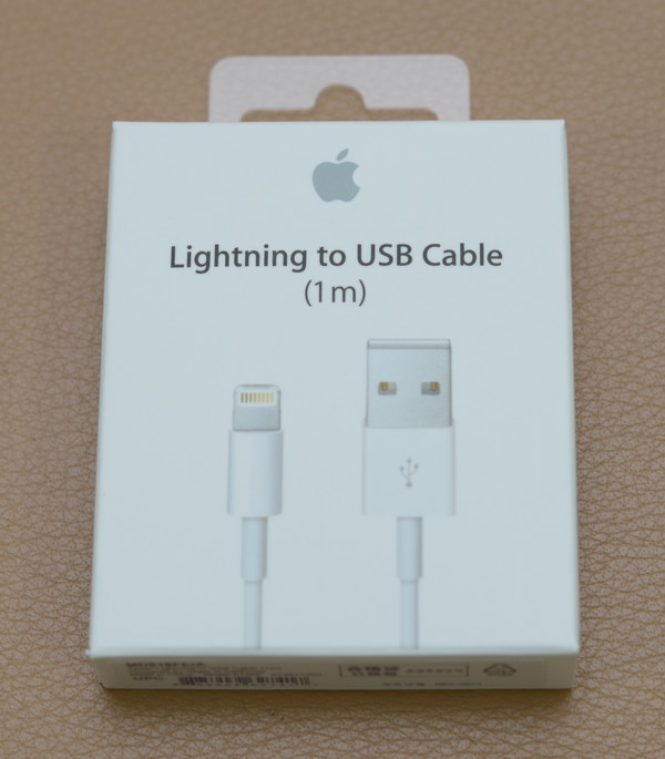 Lightning to USB cable外盒