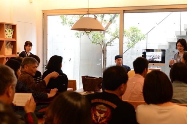 一澤信三郎演講開始前@森/CASA.台南
