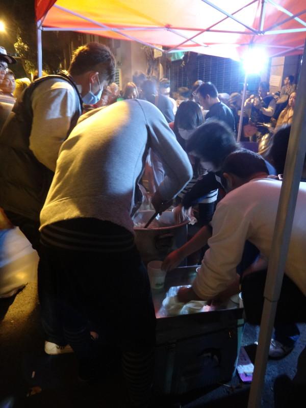 免費熱湯供應站@錦江街