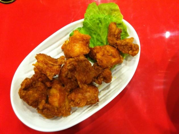 墨西哥味雞塊@Mr.拉麵 台南店