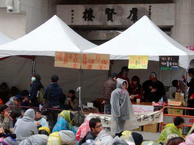 攤販@濟南路群賢樓前