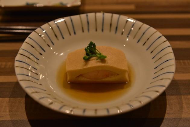 高野豆腐+蝦漿@旨味料理