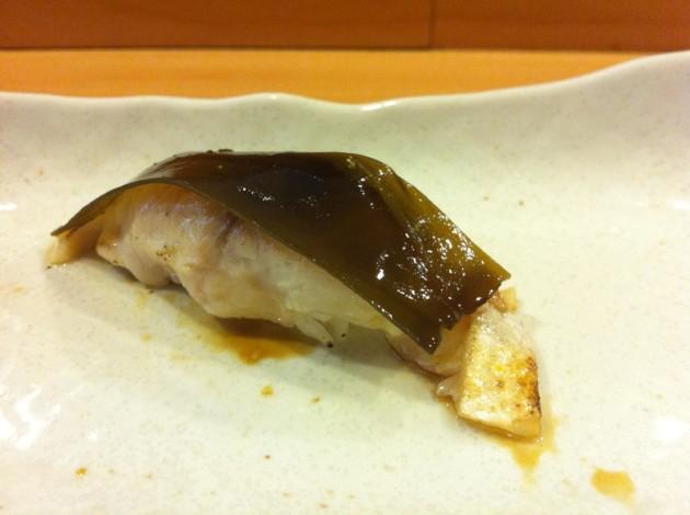 醃鯖魚+松前昆布握壽司@徹.江戶前壽司屋
