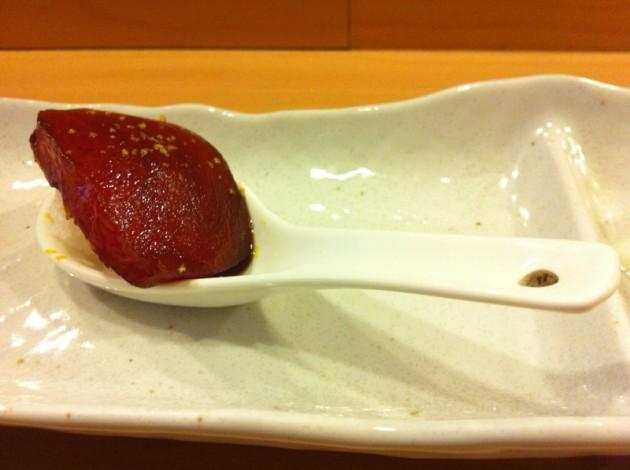 鮪魚醬油漬@徹.江戶前壽司屋