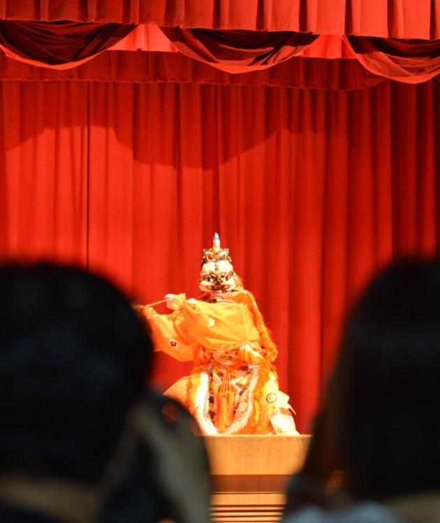 舞楽「陵王」@台南公會堂