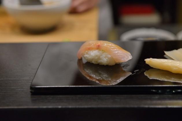 鱘龍魚握壽司@旨味料理