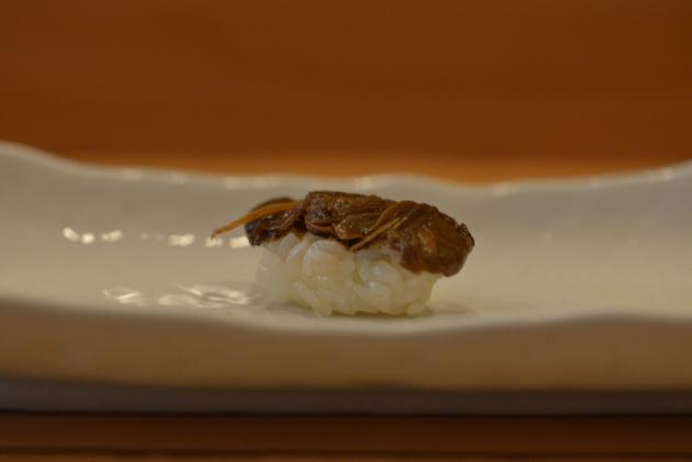 醃製蛤蜊握壽司@徹.江戶前壽司屋