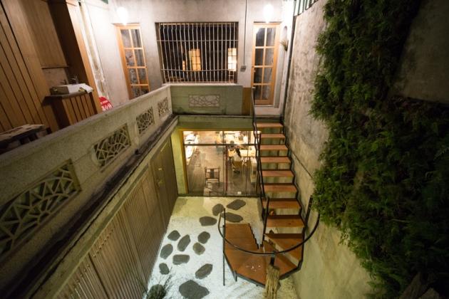 中庭階梯+二樓@Wabi Sabi 和寂