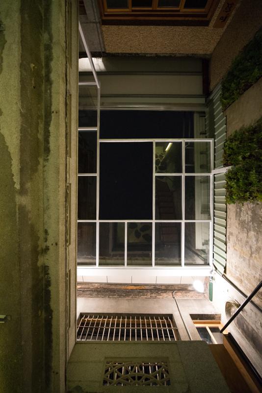 中庭頂棚@Wabi Sabi 和寂