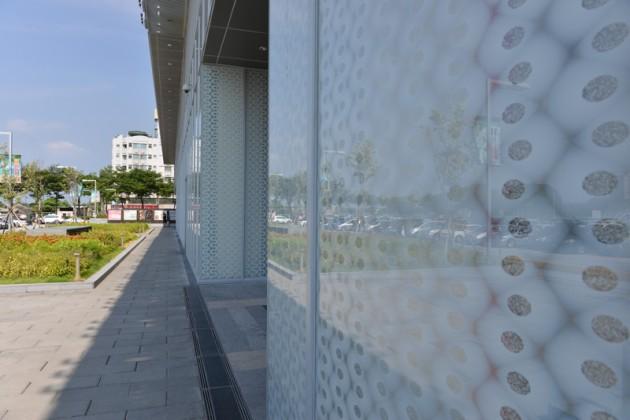 玻璃外牆@南紡夢時代