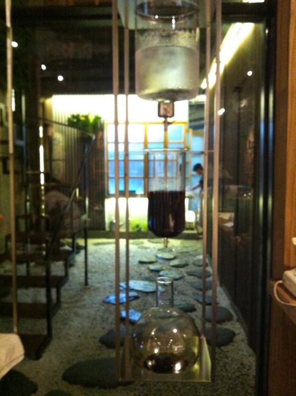 冰滴咖啡裝置@Wabi Sabi 和寂